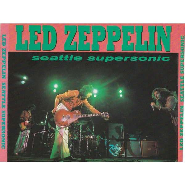 led zeppelin Seattle Supersonic 2CD Live at Seattle Center Coliseum, Seattle, Washington, U.S.A. March 21, 1975.