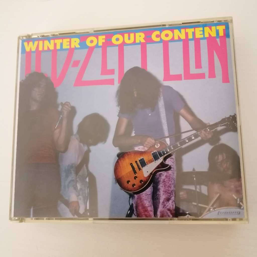 led zeppelin Winter Of Our Content 2CD San Francisco 1969