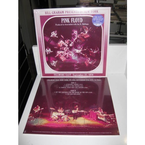 pink floyd Fillmore East September 27 1970 - Limited Edition Nr. 130/400 - PURPLE SPLATTERED VINYL