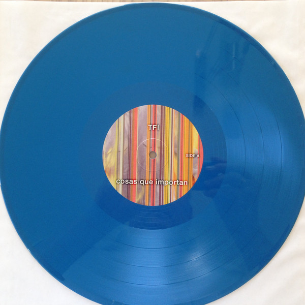 david bowie Reaching The Very Edge - Blue Vinyl - Limited Edition n. 312/500