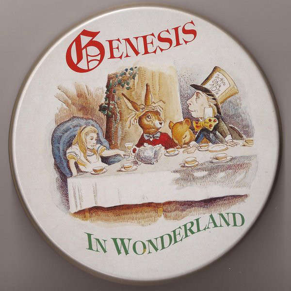 genesis In Wonderland - Metal BOX