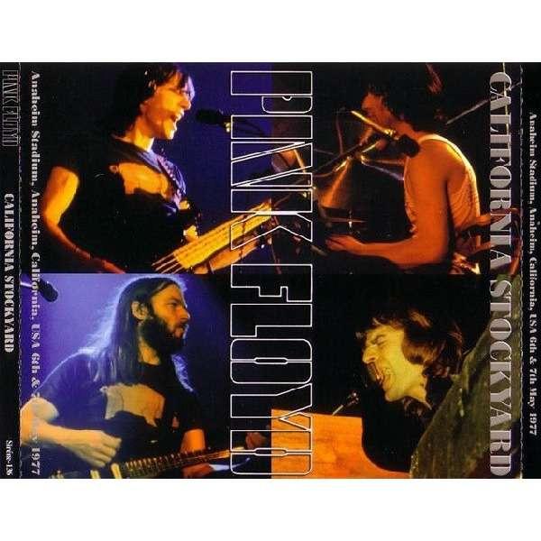 pink floyd California Stockyard - Live at Anaheim Stadium, Anaheim, California 1977 - 5CD+1DVD 200 copies