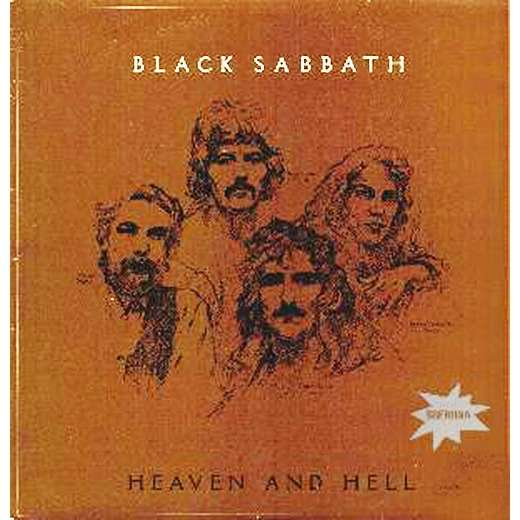 black sabbath heaven and hell-different cover