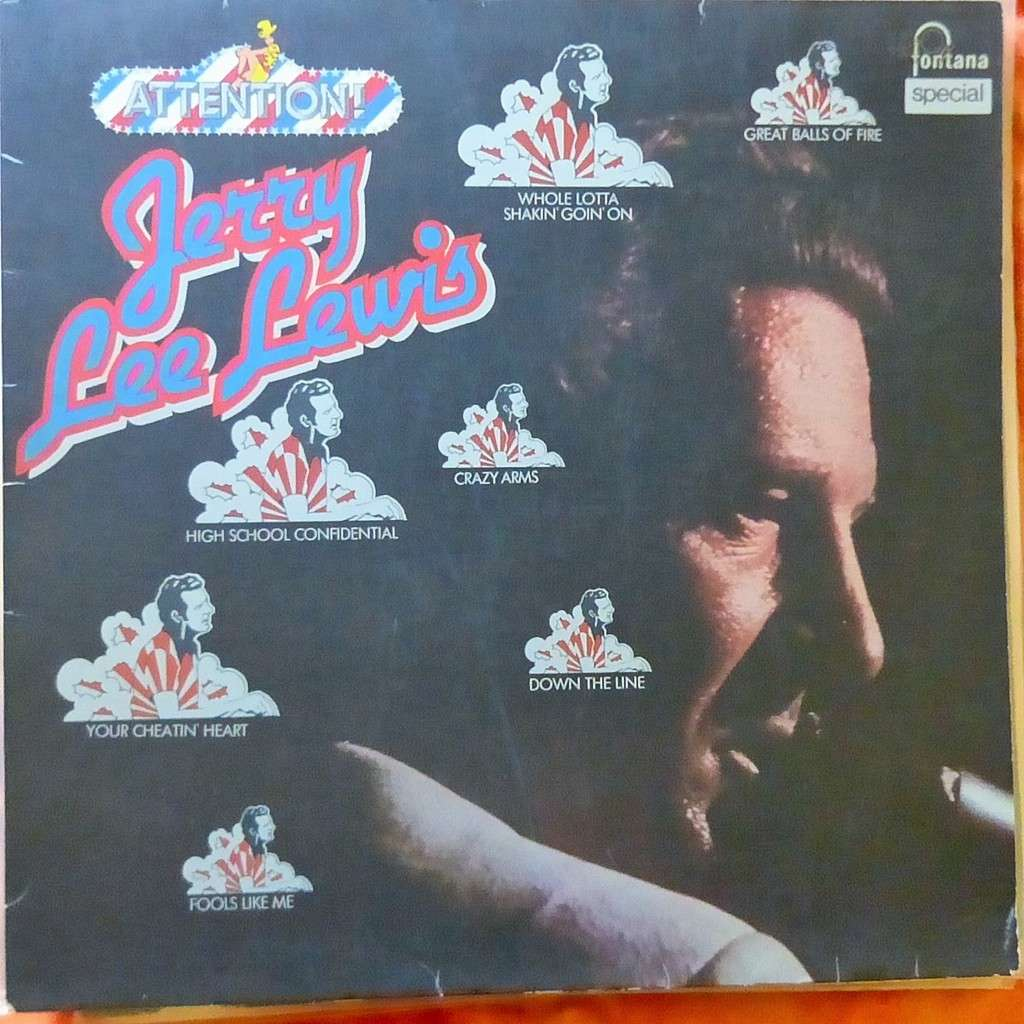 JERRY LEE LEWIS ATTENTION