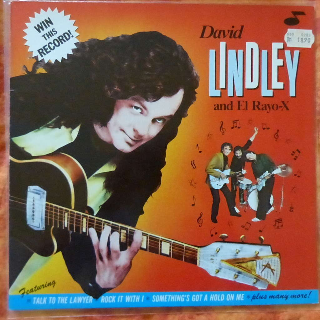 DAVID LINDLEY AND EL RAYO X WIN THIS RECORD