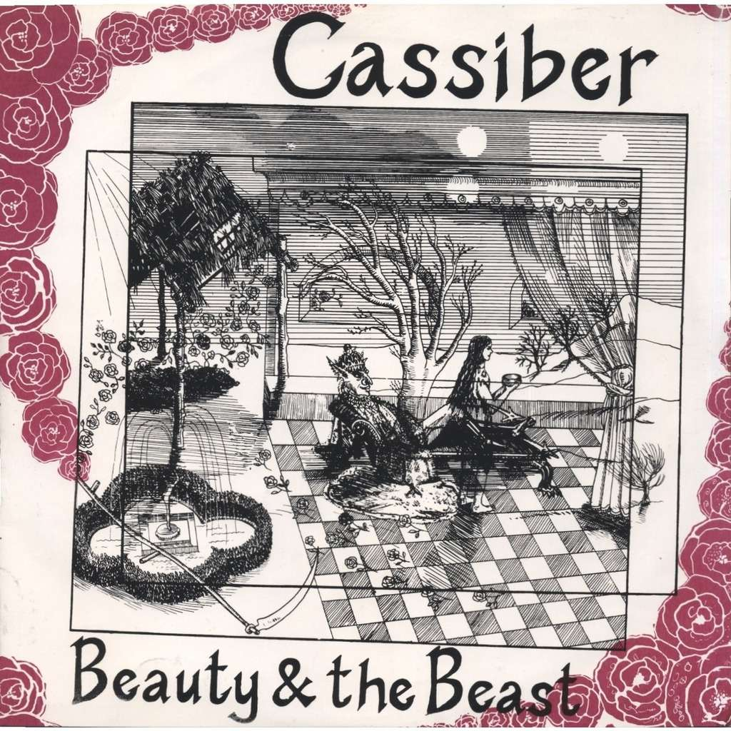 CASSIBER (with Chris Cutler) Beauty & the Beast (3 different mixes) + 2 INSERTS