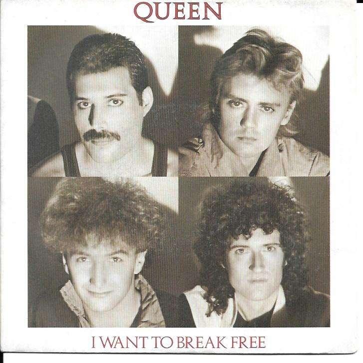 QUEEN i want to break free / machines