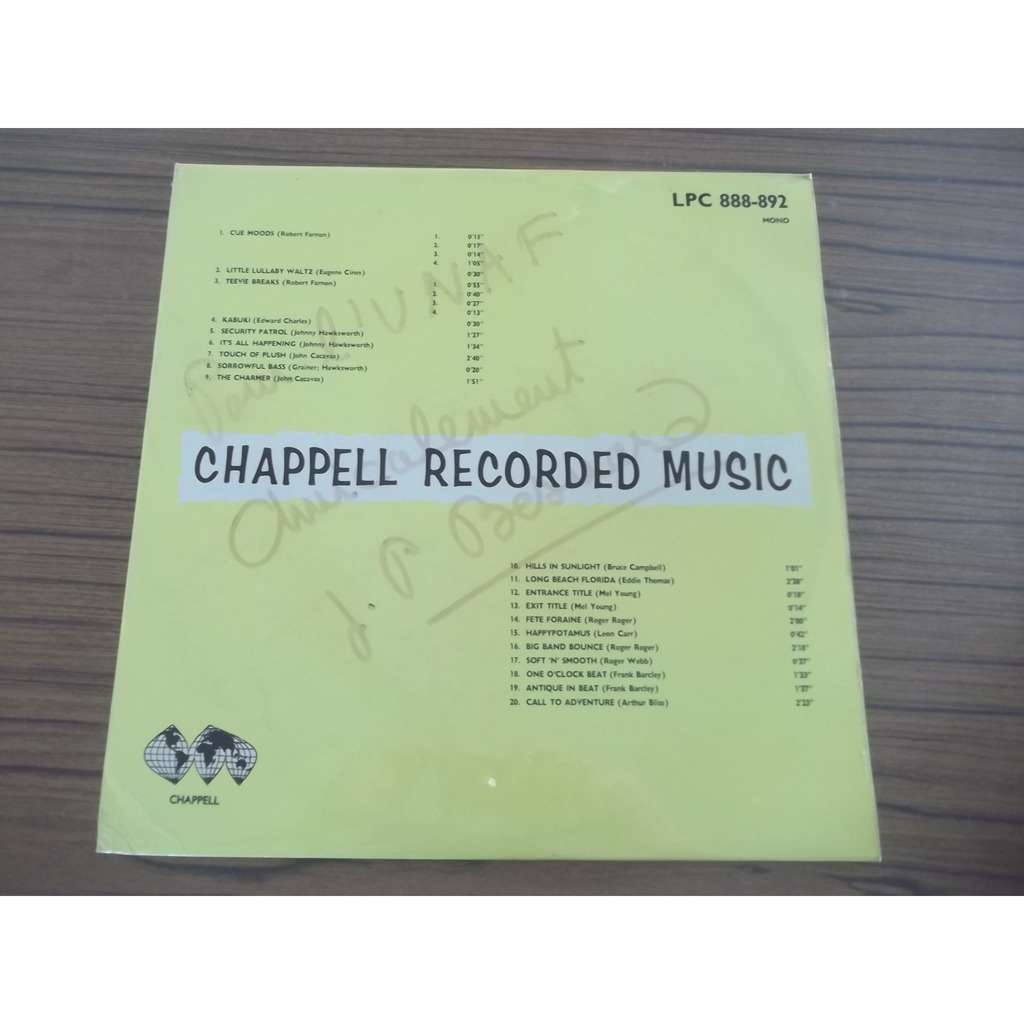 Various Chappell Recorded Music