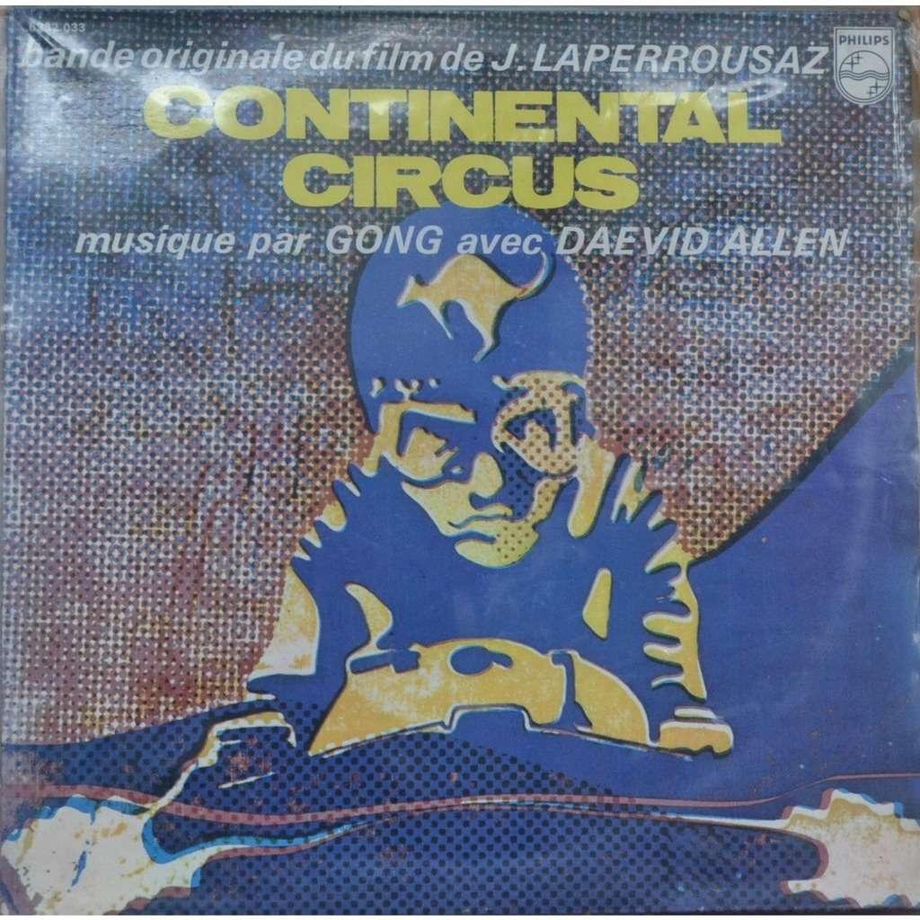 Gong Avec Daevid Allen Continental Circus - Original Soundtrack