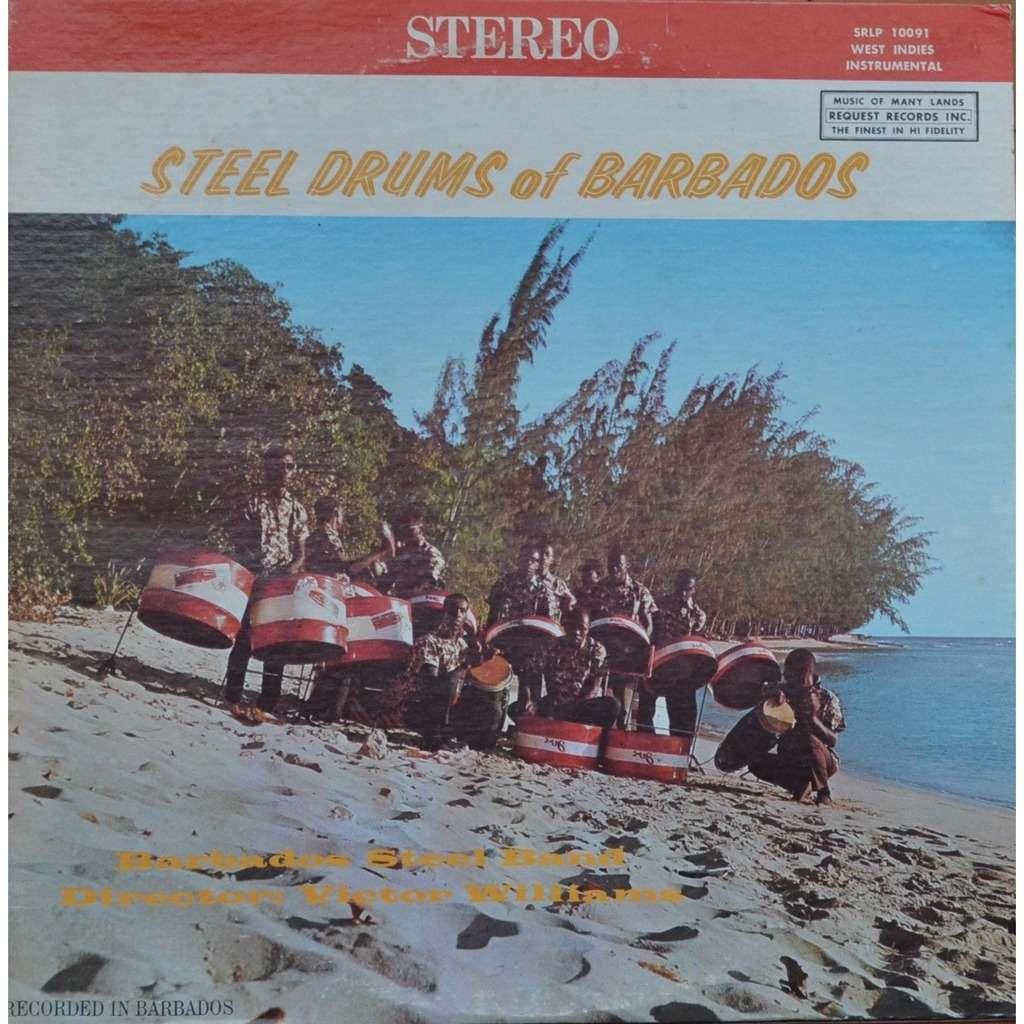 Barbados Steel Band Steel Drums Of Barbados