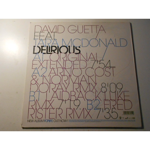 david guetta delirious