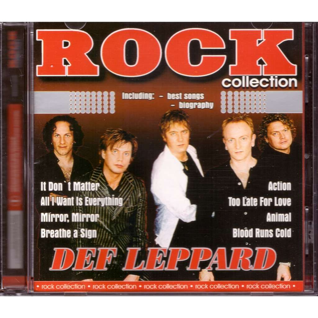 Def Leppard Rock Collection