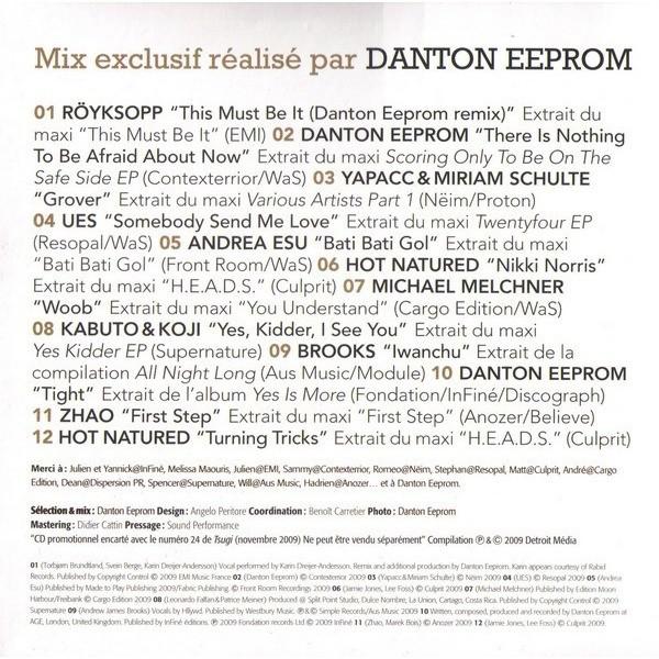 danton eeprom Tsugi 24 - Danton Eeprom - The Lost Art Of Dancing Naked