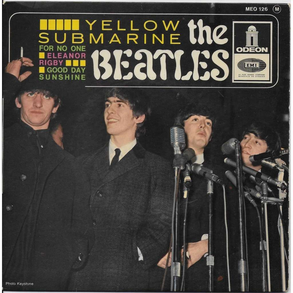 the beatles Yellow Submarine For noone Eleanor Rigby Good day sunshine