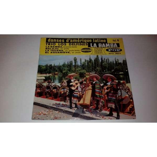 TRIO LOS DELFINES La Bamba + 3 (original French press - 1960s - BIEM)