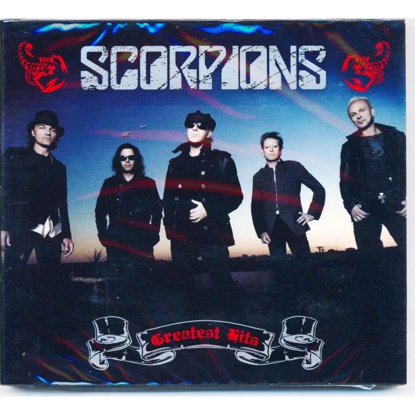 Scorpions Greatest Hits (2010) 2CD Digipak, New & Factory-Sealed