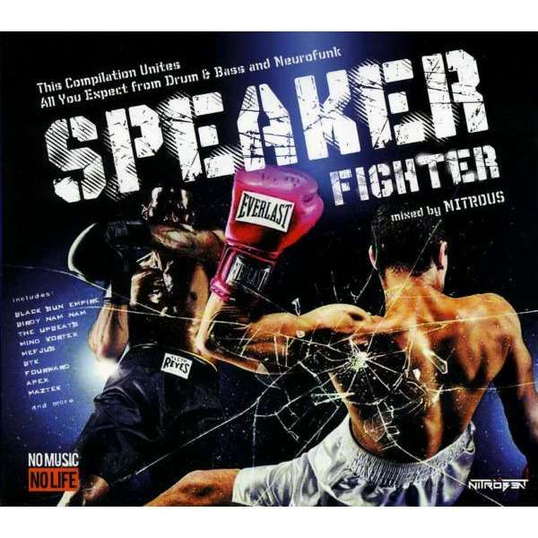 Various Speaker Fighter (2013) 2CD Drum n Bass and Dubstep mix / Digipak / New and Factory-Sealed