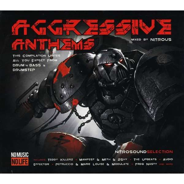 Various Aggressive Anthems (2013) 2CD Drum n Bass and Dubstep mix / Digipak / New and Factory-Sealed