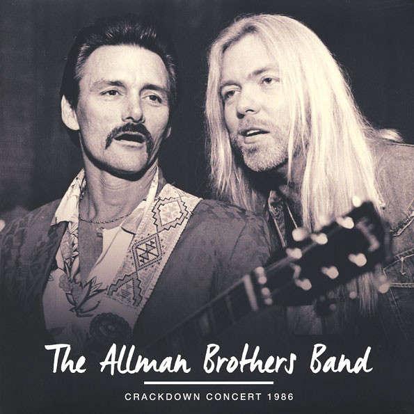 The Allman Brothers Band Crackdown Concert 1986 (2xlp) Ltd Edit Gatefold Sleeve -E.U