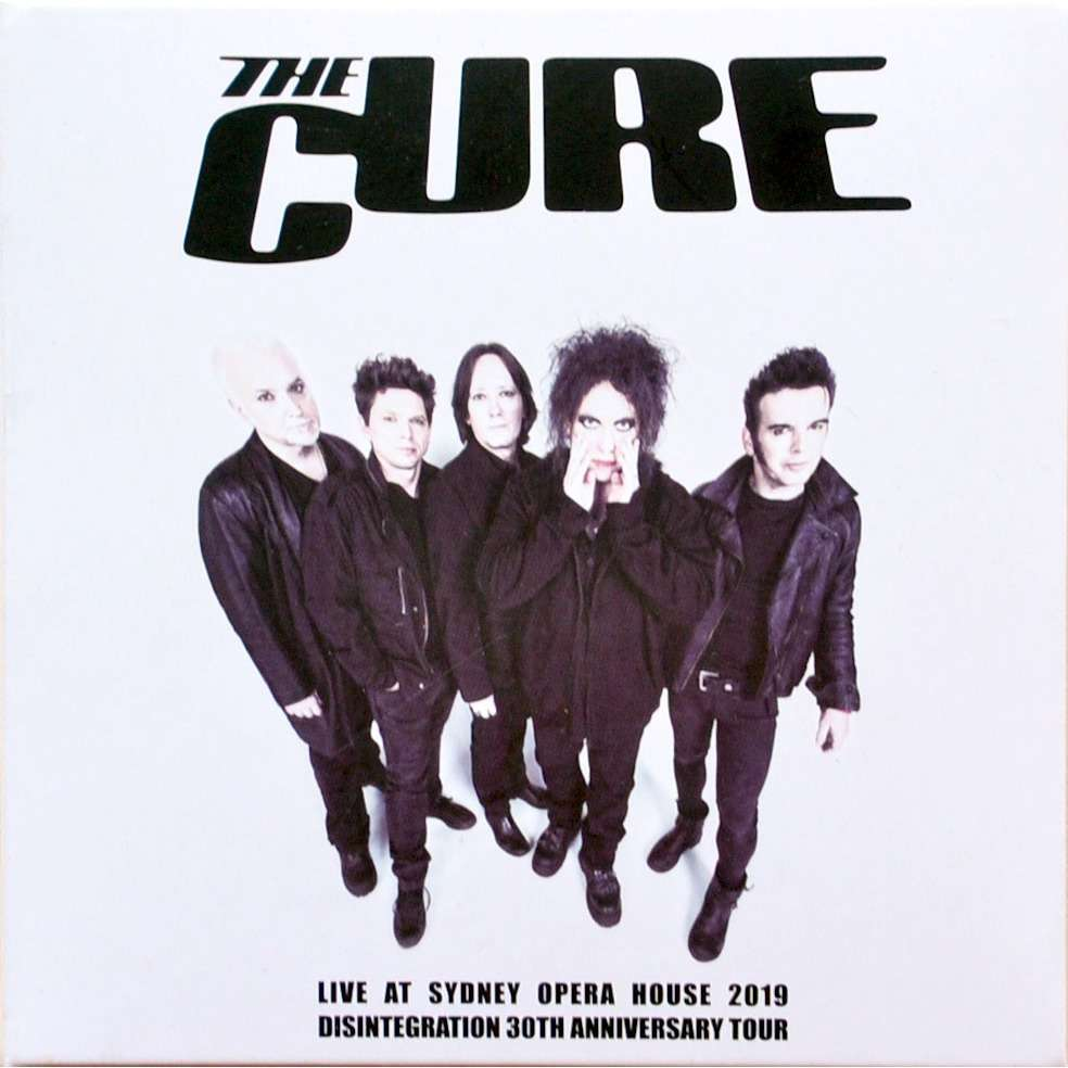 THE CURE Live In Sydney Australia 30 May 2019 Disintegration 30th Anniversary Tour 2CD