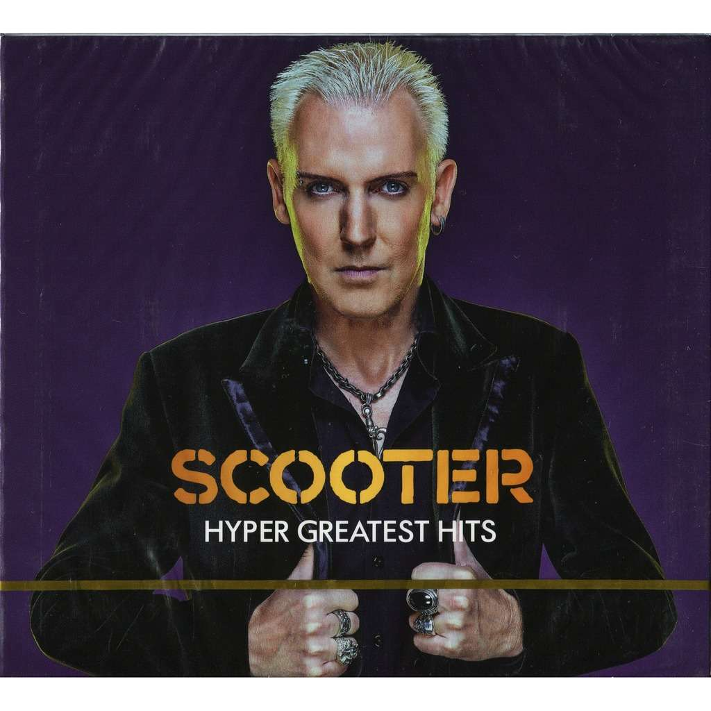 Scooter Hyper Greatest Hits (2019 NEW!!!) 2CD Digipak - New and Factory Sealed