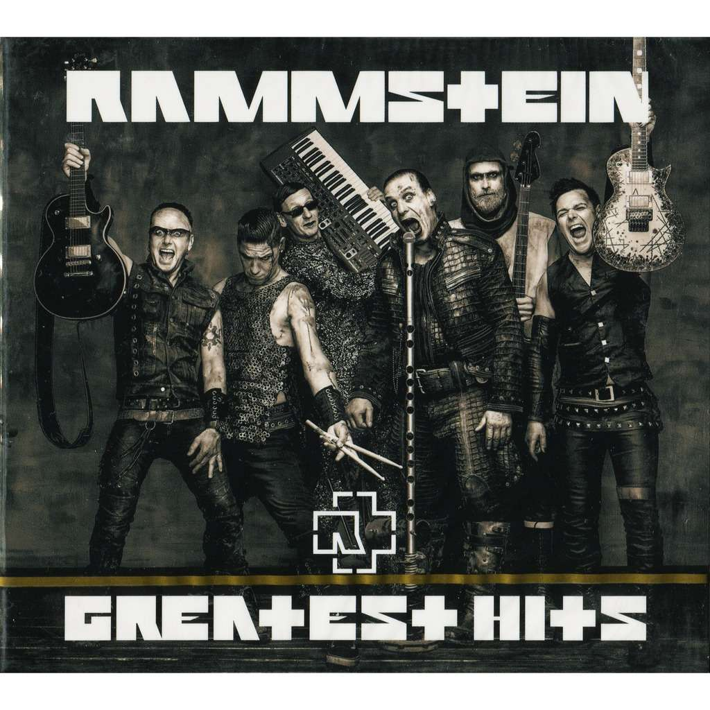 Rammstein Greatest Hits (2019 NEW) 2CD Digipak New/Factory-Sealed!