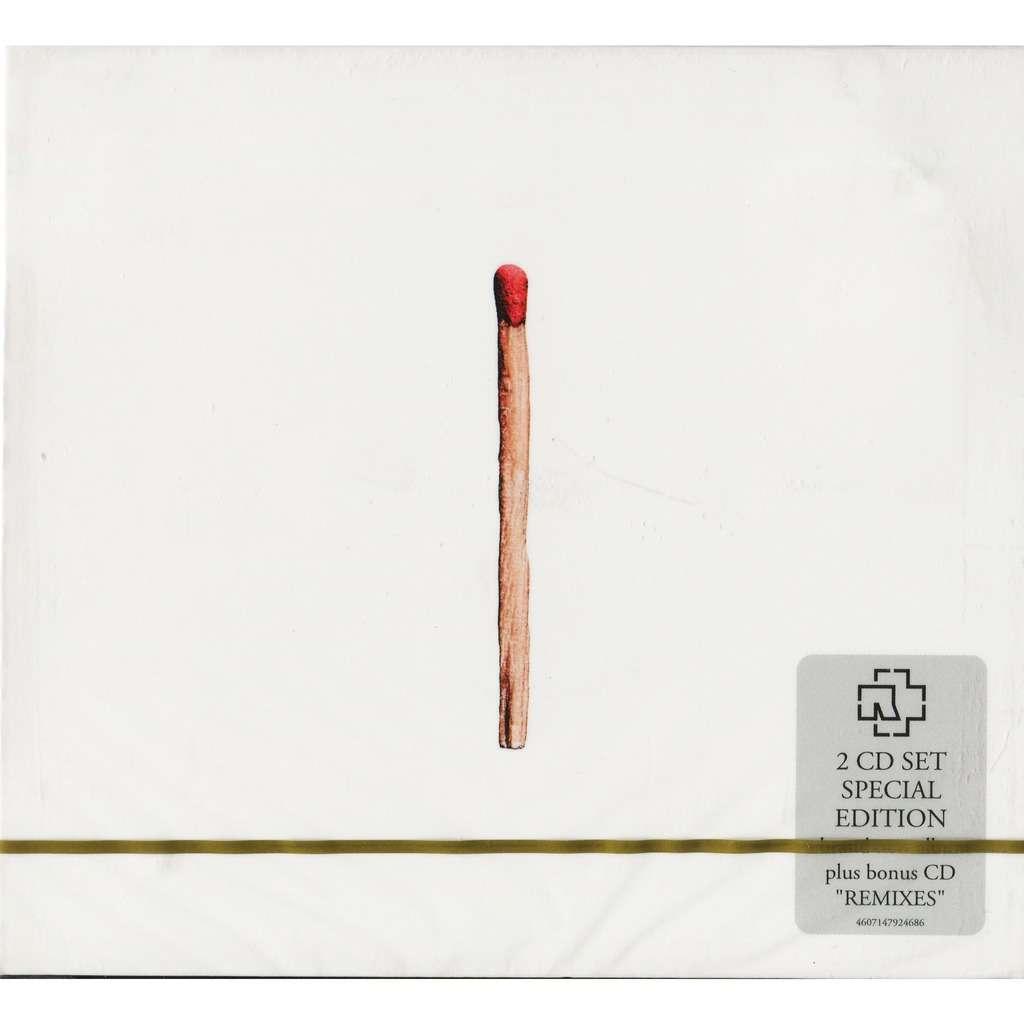 Rammstein Rammstein (2019) 2CD Set Special Edition (Digipak) with bonus CD of Remixes / New & Factory-Sealed