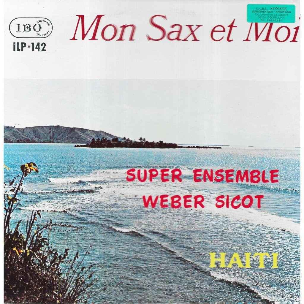 Super ensemble de Webert SICOT Mon Sax et Moi