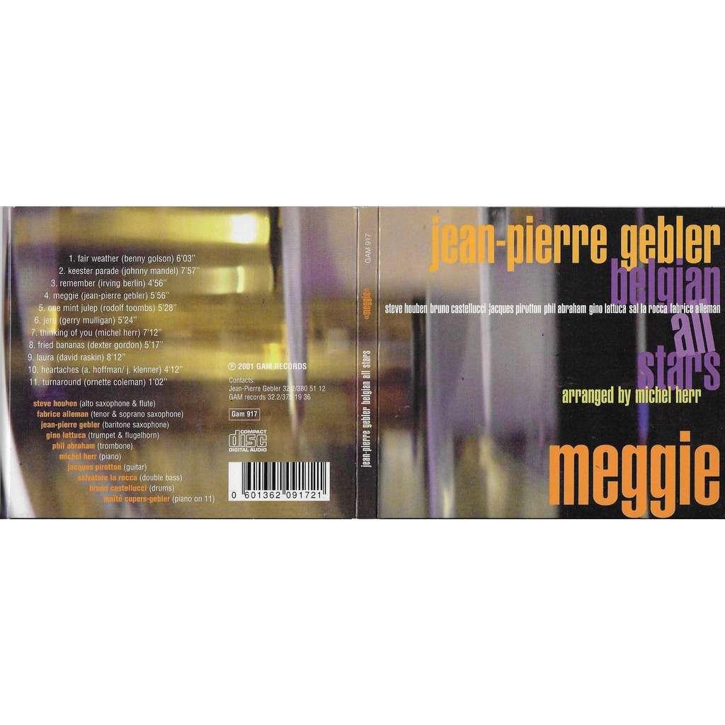 Jean-Pierre Gebler Belgian All Stars - Feat M.Herr Meggie