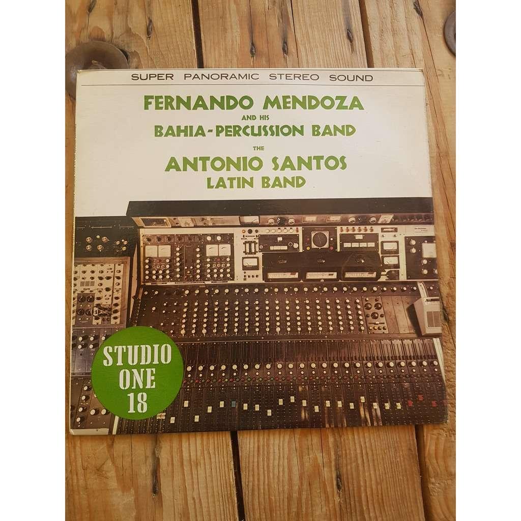 fernando mendoza&bahia-percussion.../ a.santos ..; studio one 18