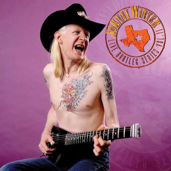 Johnny Winter Live Bootleg Series Vol. 11 (lp) Ltd Edit Clear Vinyl & Friday Music -USA