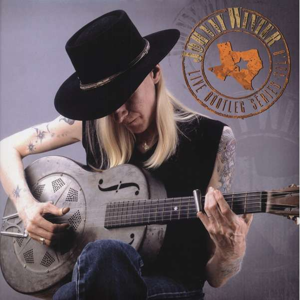 Johnny Winter Live Bootleg Series Vol. 8 (2xlp) Ltd Edit White Vinyl Gatefold Sleeve & Friday Music -USA