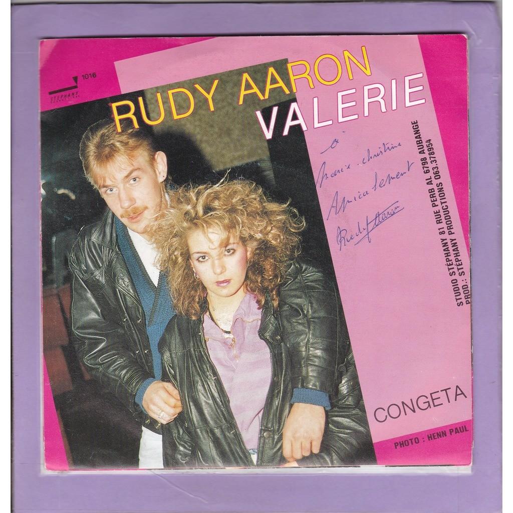 RUDY AARON VALERIE - CONGETA