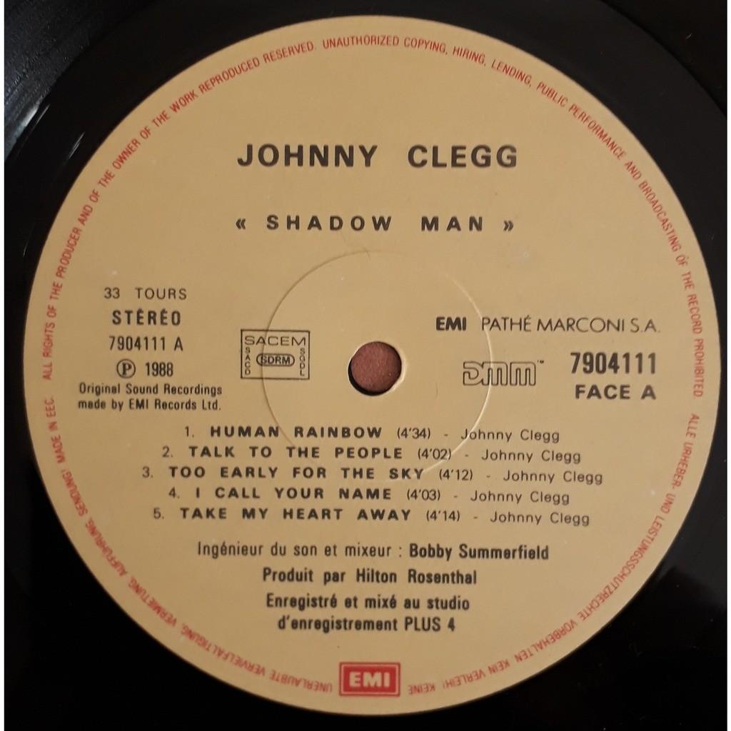 johnny clegg & savuka shadow man