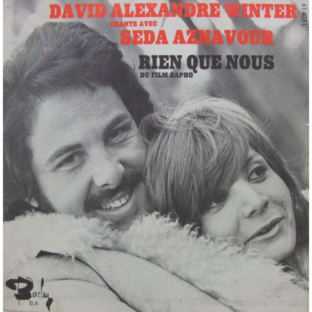 david alexandre winter / seda aznavour rien que nous (bo sapho)