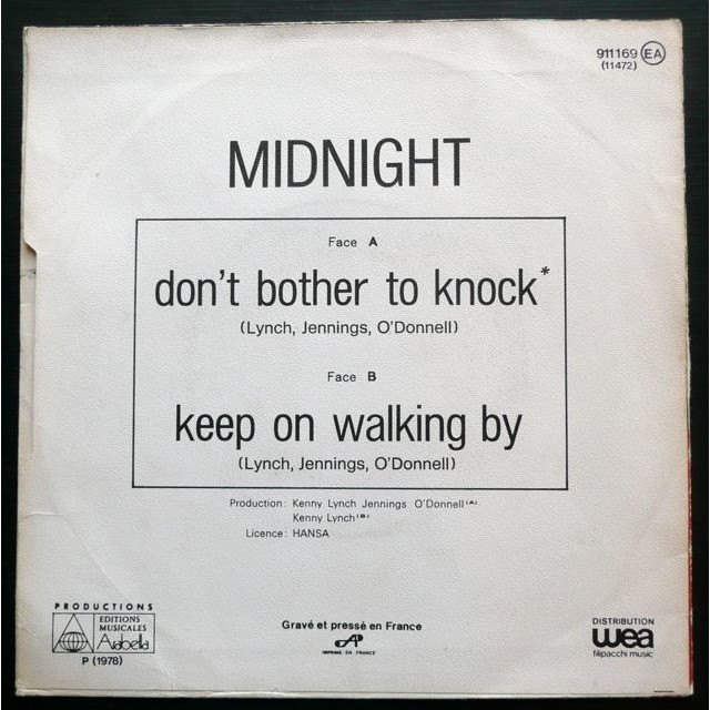 Midnight Don't Bother To Knock