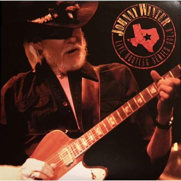 Johnny Winter Live Bootleg Series Vol. 4 (lp) Ltd Edit Clear Vinyl & Friday Music -USA