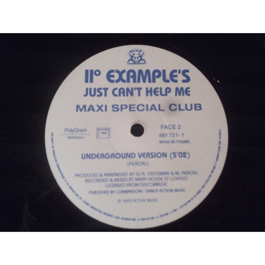 II° EXAMPLE'S just can't help me (underground version) / just can't help me (bit version)