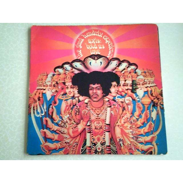 The Jimi Hendrix Experience Axis Bold As Love
