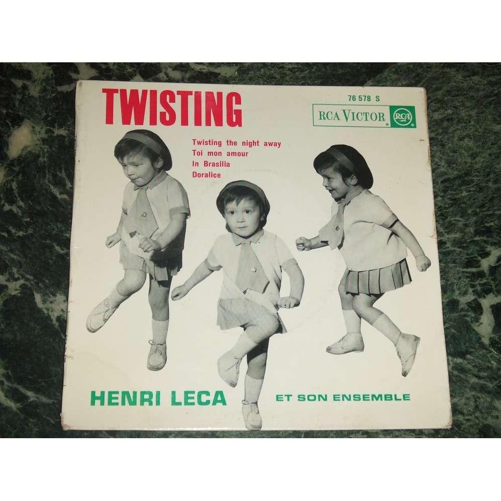 Henri Leca Et Son Orchestre (Henry) Twisting the night away +3
