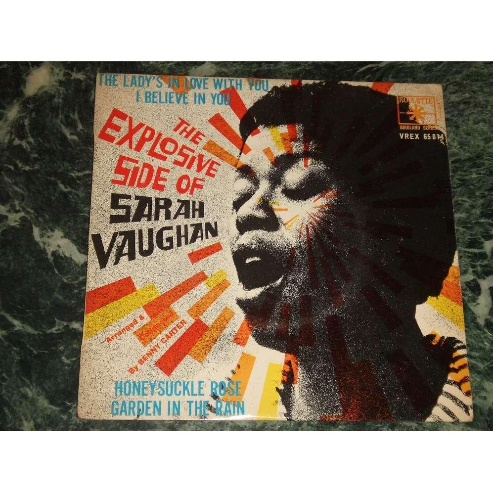 Sarah Vaughan The Explosive Side Of Sarah Vaughan / I Believe In You +3