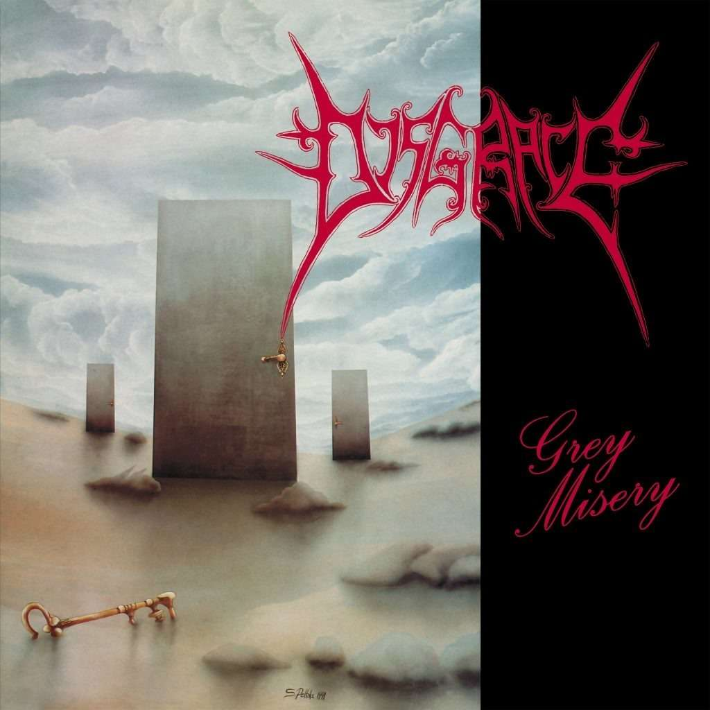 DISGRACE Grey Misery - The Complete Death Metal Years