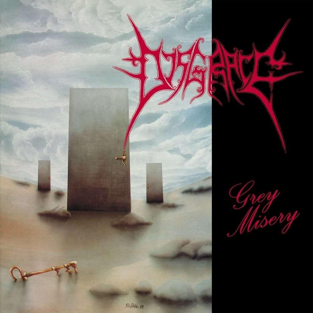 DISGRACE Grey Misery - The Complete Death Metal Years. Grey Vinyl
