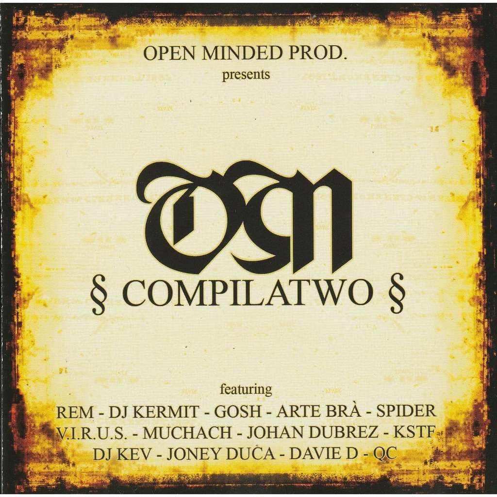 divers artistes - various artist open minded compilatwo