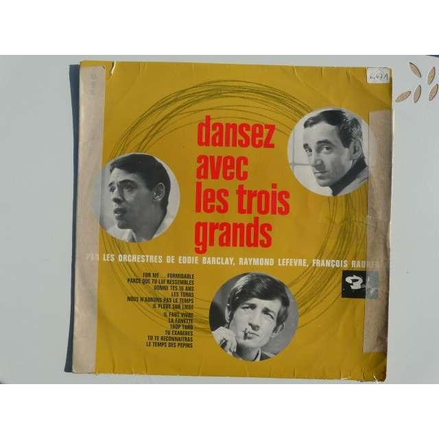Aznavour Charles + Artistes Divers Dansez avec les trois grands*