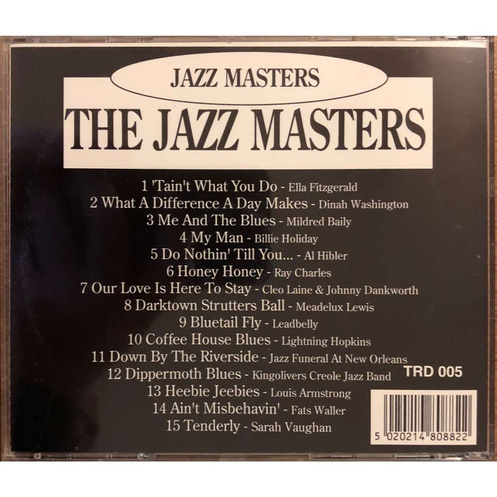 Various The Jazz Masters