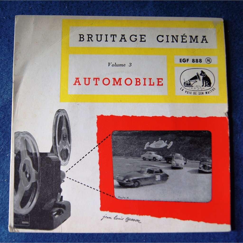 bruitage cinéma AUTOMOBILE VOL 3