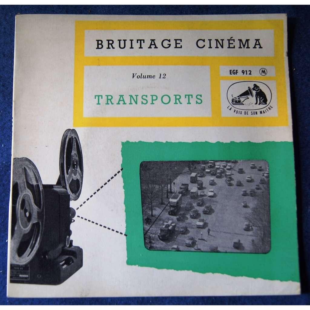 bruitage cinéma TRANSPORTS VOL 12