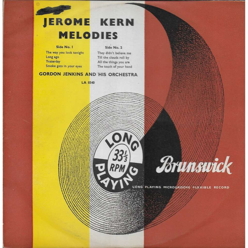Gordon JENKINS & his orchestra Mélodies de Jerome Kern
