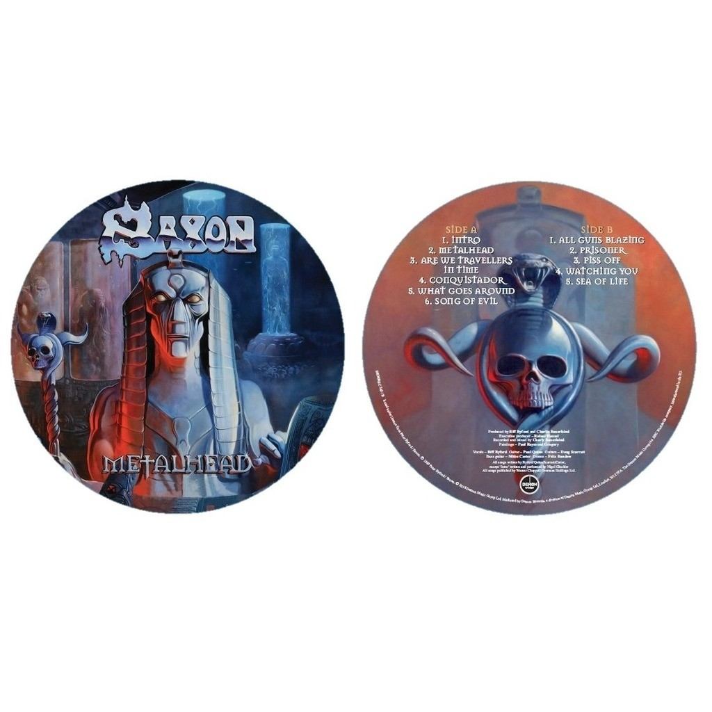 Saxon Metalhead (lp) Ltd Edit Exclusive Record Store Day Picture Disc -U.K